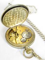 1930s Swiss Pocket Watch & Chain (2 of 4)