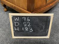 Burr Walnut Bow Front Wardrobe (10 of 10)