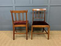 Set of 8 Georgian Mahogany Dining Chairs (6 of 16)