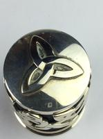 """Solid Silver """"Hallmarked"""" Celtic  Lidded Pot Very Unusual Available Worldwide (9 of 10)"""