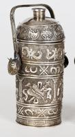 Chinese Pair of Qing Silver Metal Handled Lidded Containers (14 of 22)