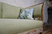 Elegant 18th Century Gustavian Dry Scraped Sofa Lindome c.1790 (14 of 14)
