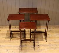 Mahogany Nest of Four Tables (8 of 11)