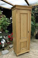 Fabulous Old Stripped Pine Cupboard / Wardrobe (2 of 11)