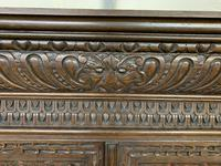 Imposing Carved Oak Bookcase (15 of 23)