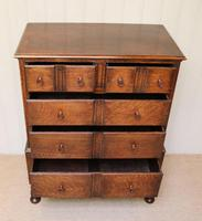 Solid Oak Chest of Drawers (4 of 10)