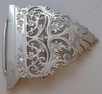 Sheffield 1900 Hallmarked Solid Silver Nurses Belt Buckle George Guirron Rhoden (4 of 8)