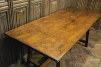 Spanish Chestnut Wood Tavern Table (5 of 8)