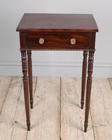 Regency Mahogany Side Table (5 of 7)