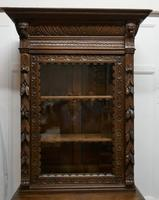Pair of French Carved Gothic Oak Bookcases (9 of 12)