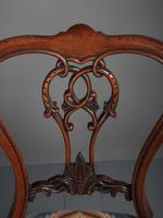 Set of 6 Mid Victorian Rosewood Dining Chairs (14 of 14)