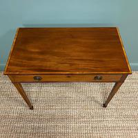 Stunning Georgian Mahogany Antique Side Table (4 of 8)