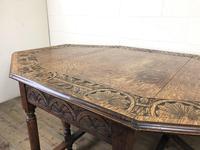 Early 20th Century Oak Gateleg Table (12 of 12)