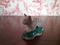 Georgian Pearlware Cat (4 of 4)