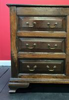Beautiful 18th Century Georgian Period English Country Oak Mule Chest Sideboard Cabinet (9 of 19)