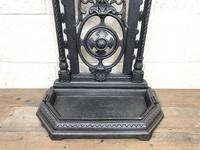 Victorian Cast Iron Umbrella Stand – Coalbrookdale Style (4 of 9)