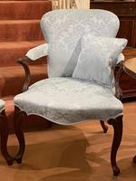 Pair of Late 18th Century Hepplewhite Period Library Armchairs (2 of 6)