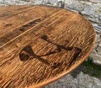 Large Georgian Oak Tilt Top Occasional Table (3 of 21)