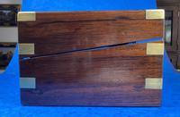 Victorian Brassbound Rosewood Writing Slope (9 of 20)