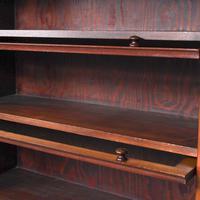 Mahogany 5 Door Sectional Bookcase (8 of 11)