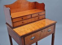19th Century  Satinwood Ladies Writing Table in the Sheraton Style (7 of 15)