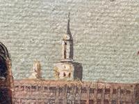 Seascape Oil Painting First Rate Man O War Ships Portsmouth Harbour Signed Brian Coole (26 of 39)