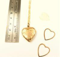Antique 9ct Gold Glasgow Assayed Locket 1911 (5 of 9)