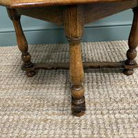 Quality Edwardian Oak Antique Coffee Table (2 of 5)