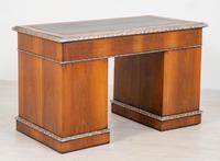 Superb Victorian Walnut 2 Pedestal Desk (9 of 10)