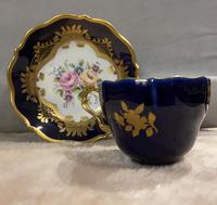 Dresden, Lindner Porcelain Hand Painted Cup & Saucer (5 of 5)