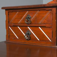 Victorian Gothic Revival Walnut Dressing Table (5 of 16)