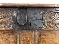 Antique 18th Century Joined Oak Coffer (11 of 15)