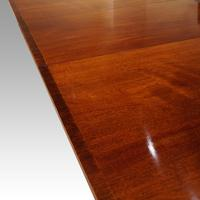 Large George V 3 Pillar Mahogany Dining Table (9 of 10)
