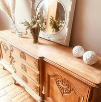 French Antique Style Large Oak Sideboard / Cupboard (10 of 10)