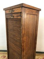 Antique French Filing Cabinet Tambour Roller Shutter (4 of 12)