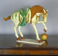 Early 20th Century Chinese Tang Horse Sancai Glaze (3 of 6)