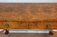 Antique Fine Quality Queen Anne Style Burr Walnut Side / Centre Table (8 of 8)