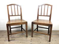 Pair of 19th Century Oak Farmhouse Chairs (2 of 13)
