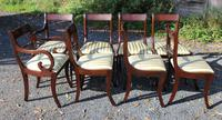 1960s -set 8 Mahogany Rope Back Dining Chairs with Pop Out Seats 6+2 Carvers (2 of 3)