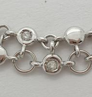 Double Row Diamond Necklace (3 of 5)