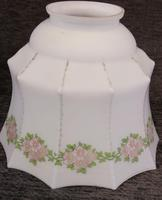 Antique Vintage Glass Light Lamp Shade (2 of 4)