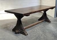 French Farmhouse Dining Table & Benches Set (2 of 33)
