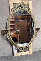 Victorian Gilt & Gesso Overmantle Mirror c.1870