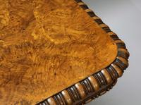 George IV Pollard Oak Pillar End Table by Gillows (3 of 9)