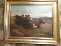 Cattle at rest, by John Crane (3 of 3)