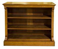 19th Century Golden Oak Open Bookshelves (5 of 5)