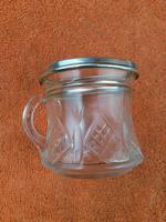 Antique Sterling Silver Hallmarked  Cut Glass Cup Mug 1932, Walter Gardener Groves, London (6 of 8)