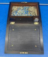 Victorian Burr Walnut Writing Box c.1870 (11 of 14)