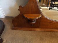A lovely Mahogany Round Bevel Edged Mirror 1860's? (6 of 6)