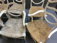 Set of 6 Sheraton Style Painted Chairs (7 of 7)